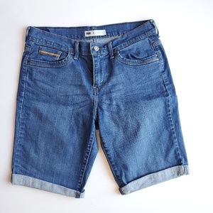 Levi's Long Denim Shorts | 8